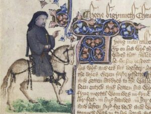 The Ellesmere Manuscript of the Canterbury Tales
